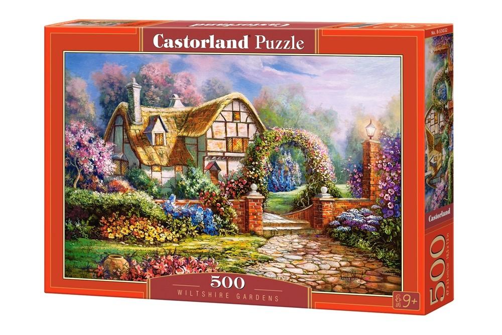 Купить Пазл Castorland Уилтширские сады, 500 элементов, Пазлы