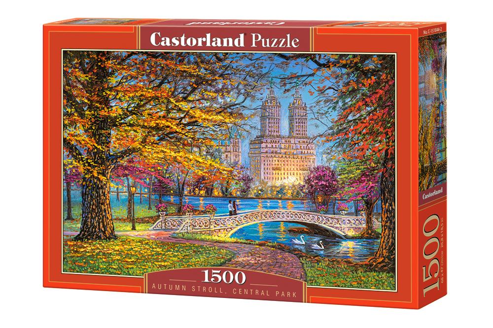 Купить Пазл Castorland Центральный парк, Нью-Йорк, 1500 элементов, Пазлы