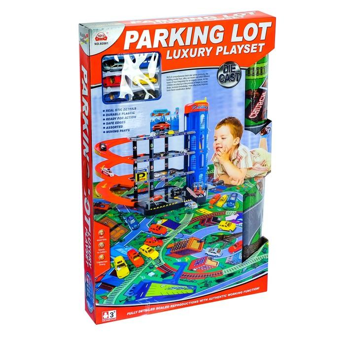 Парковка Sima Land Мега паркинг, 6 металлических