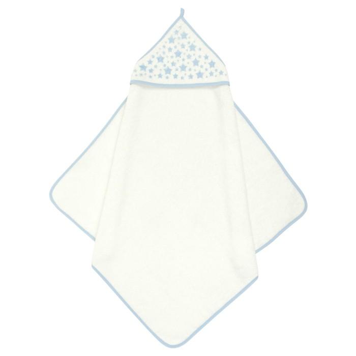Пеленка-полотенце для купания Фабрика Бамбук молочное, 75х75