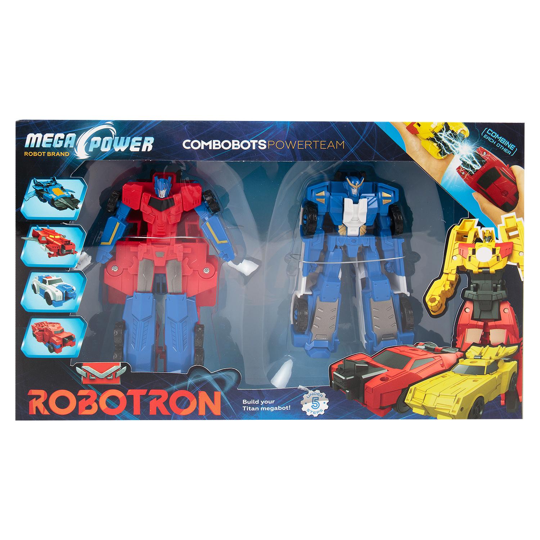 Набор игровой Robotron Роботы машины, арт.