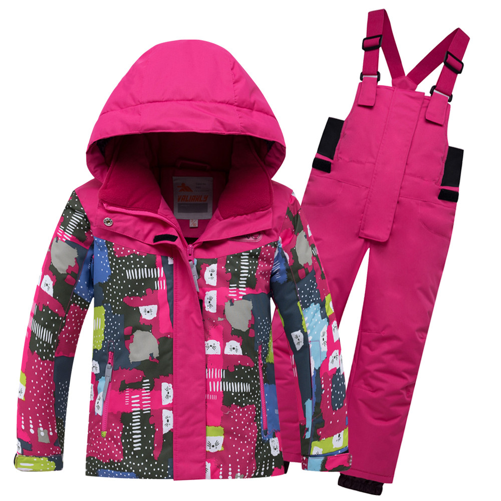 Комплект верхней одежды VALIANLY, цв. розовый