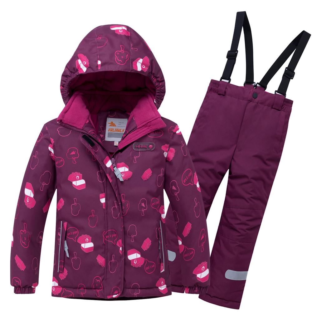 Комплект верхней одежды VALIANLY, цв. красный