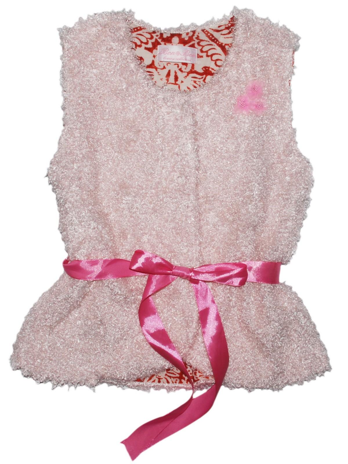 Жилет детский Bon&Bon /210/36/134/ розовый