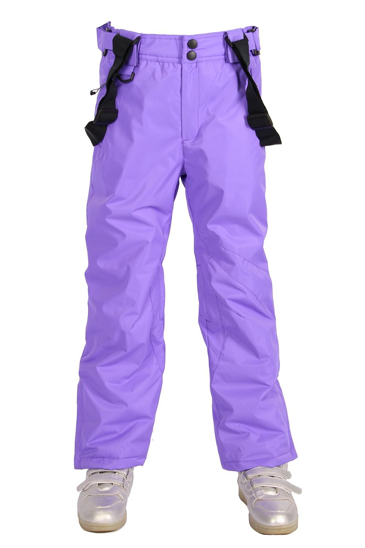 Брюки MTFORCE горнолыжные для девочки 816F фиолетовые