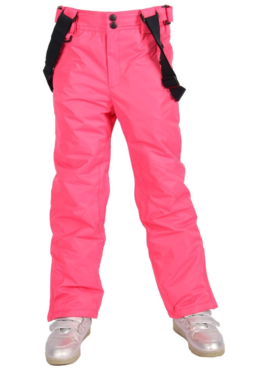 Брюки MTFORCE горнолыжные для девочки 816R розовые