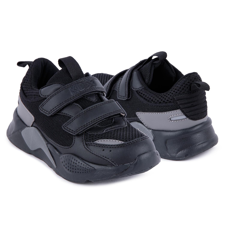 Купить Кроссовки для детей Kidix VXFW21-25 black черный 35,