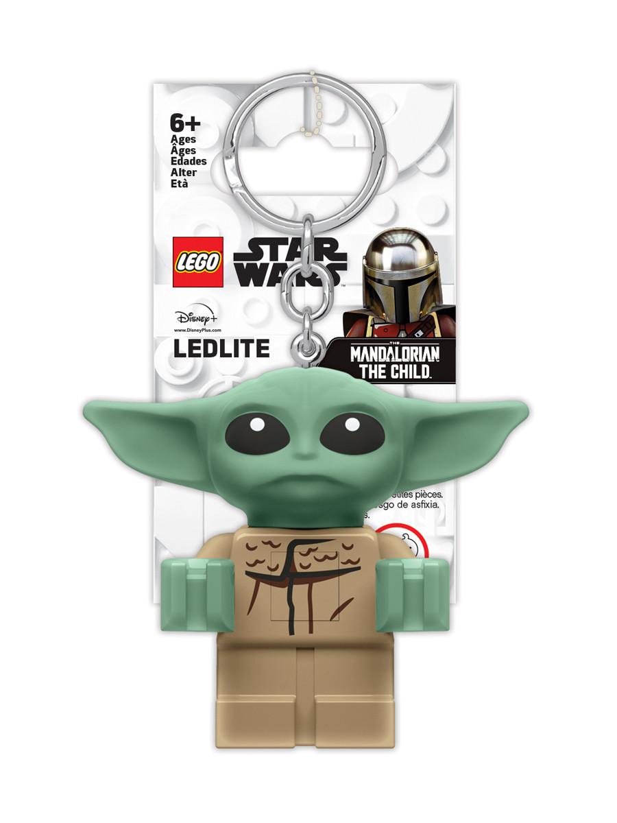 Купить Брелок-фонарик для ключей LEGO Star Wars - The Mandalorian The Child (Малыш) LGL-KE179,
