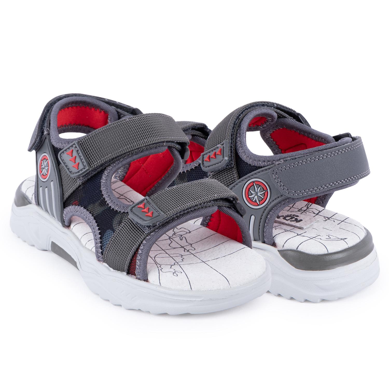 Купить Босоножки для детей Kidix MUS21-25 grey серый 32,