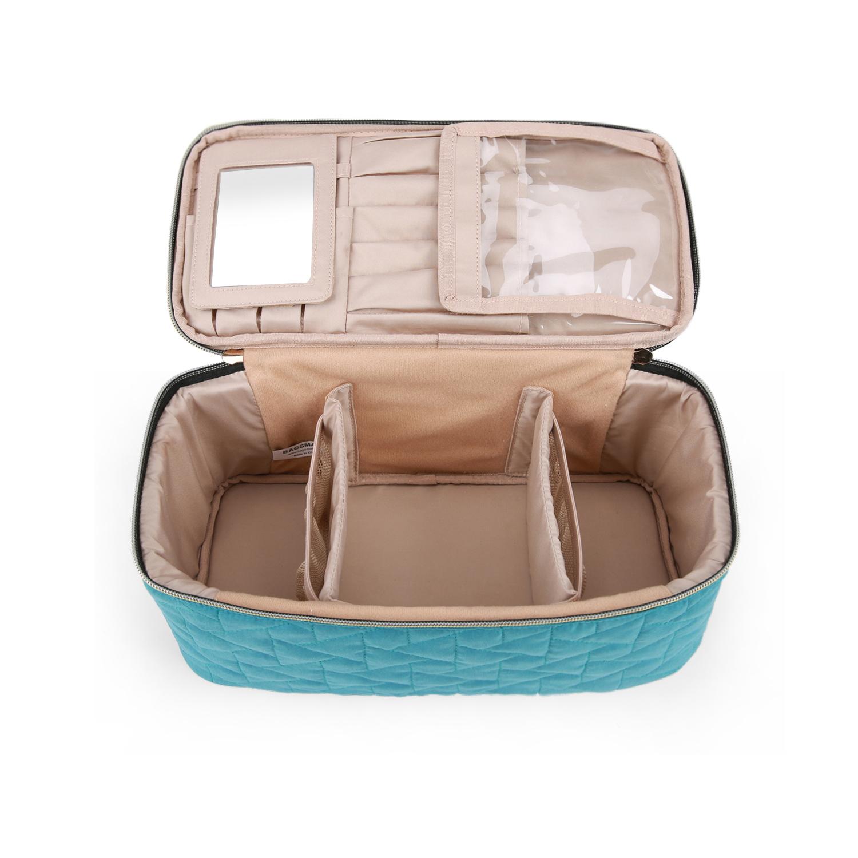 Бьюти-кейс женский Bagsmart BM0108121AN070 бирюзовый