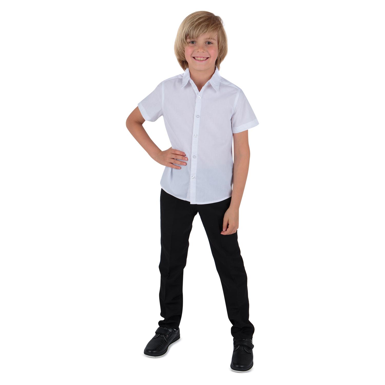 Рубашка для детей Leader Kids ЛКЗ22431024146те01У белый 146