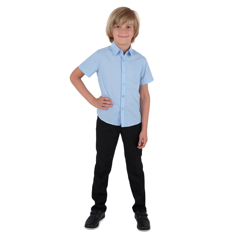 Рубашка для детей Leader Kids ЛКЗ22431024152те02У голубой 152