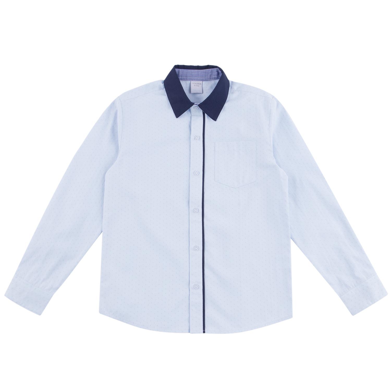 Рубашка для детей Leader Kids DS212-b4-1-013 голубой 128
