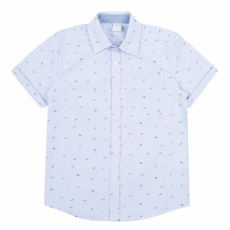 Рубашка для детей Leader Kids DS212-b4-1-071 голубой 146