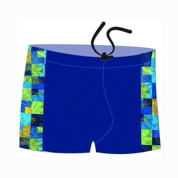 Шорты для плавания Atemi SМ8 12, синий/принт, 54 RU SМ8 12 по цене 800