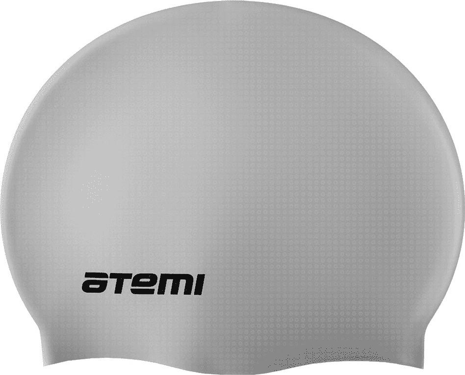 Шапочка для плавания Atemi SC109 серебристая SC109 по цене 230