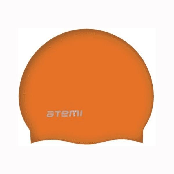 Шапочка для плавания Atemi SC106 оранжевая SC106 по цене 230