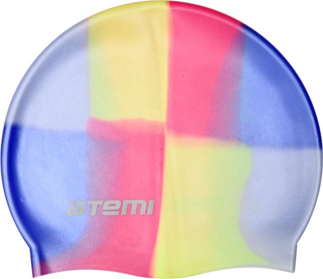 Шапочка для плавания Atemi MC204 мультиколор MC204 по цене 240