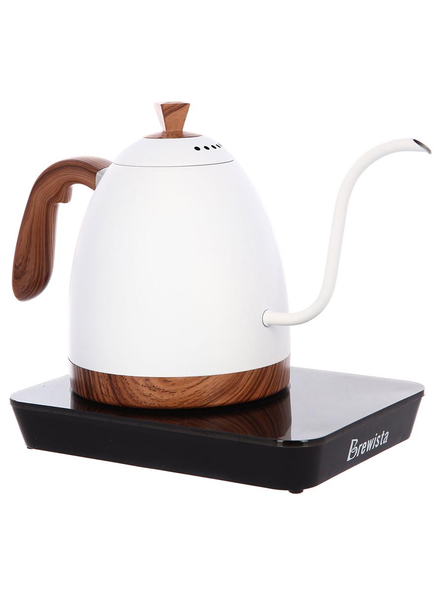 Чайник электрический Brewista Artisan Gooseneck White
