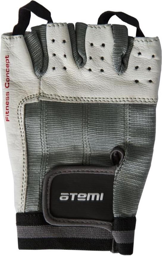 Перчатки для фитнеса Atemi, черно-белые, AFG02 (XL) AFG02XL по цене 550