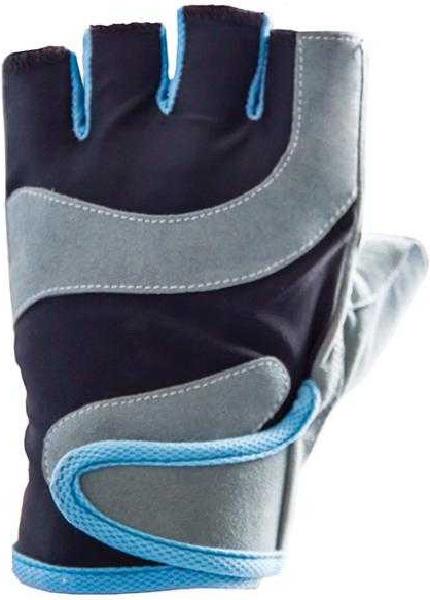 Перчатки для фитнеса Atemi, черно-серые, AFG03 (L) AFG03L по цене 480