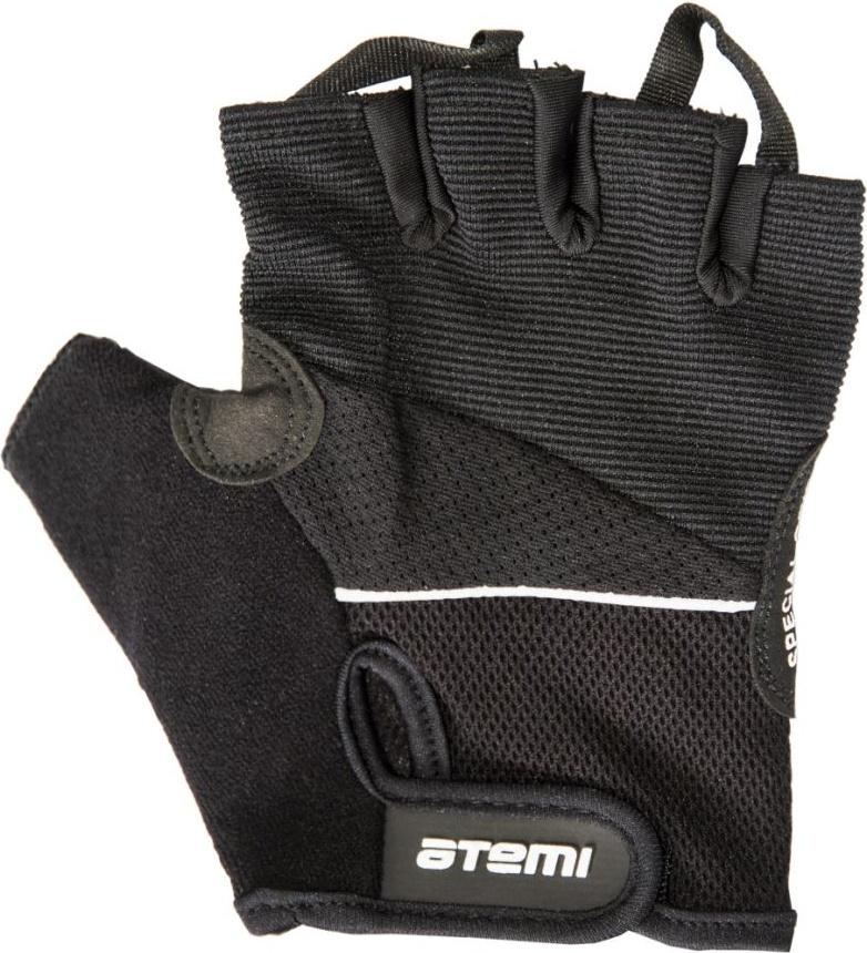 Перчатки для фитнеса Atemi, черные, AFG04 (L) AFG04L по цене 470