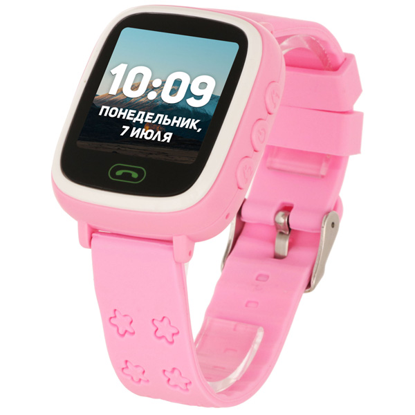 Детские смарт-часы GEO LITE Pink/Pink (GEO-G-W05PNK)