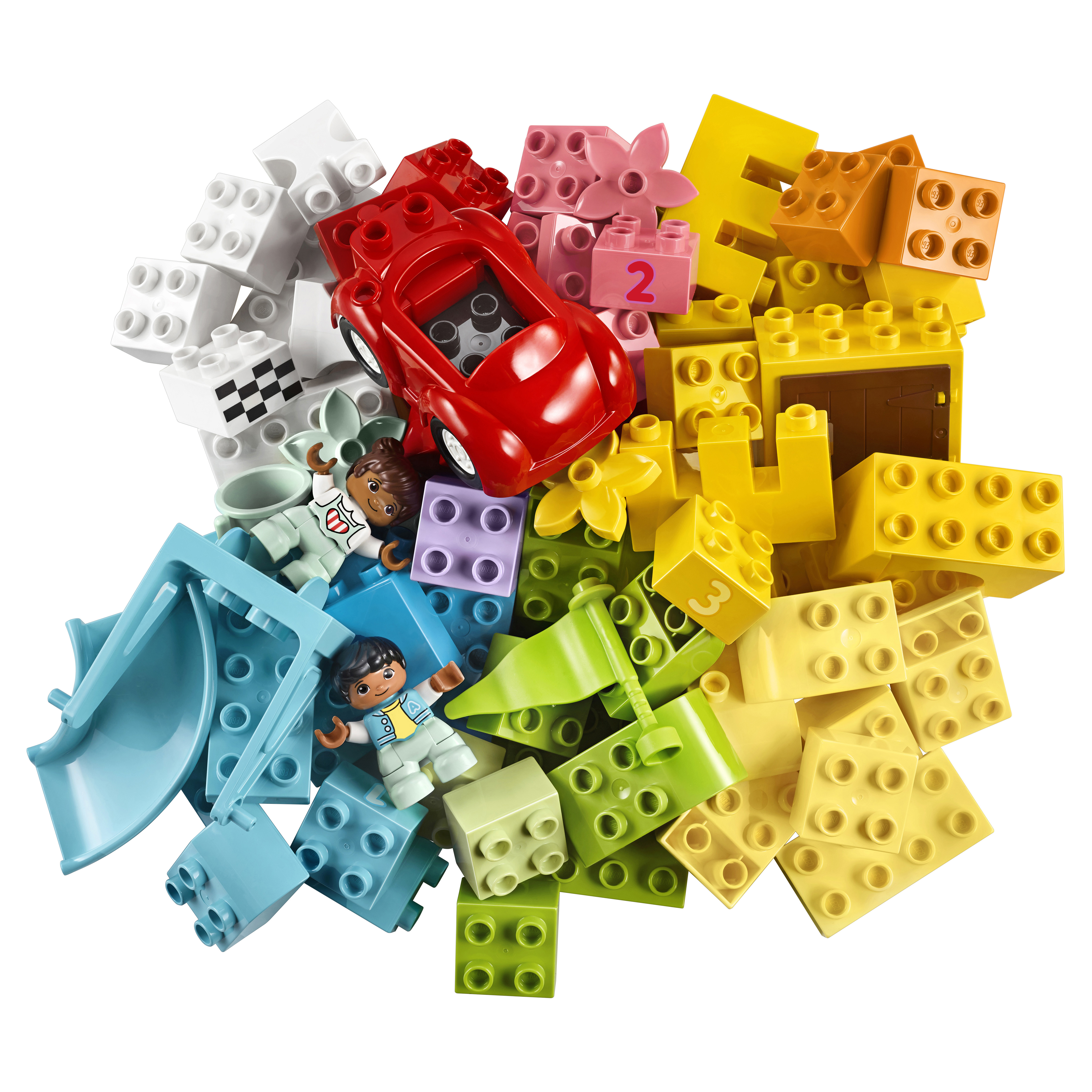 Конструктор LEGO DUPLO Classic 10914 Большая коробка
