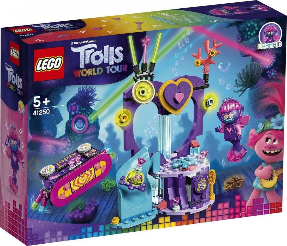 Купить Конструктор LEGO Trolls 41250 Вечеринка на Техно-рифе,