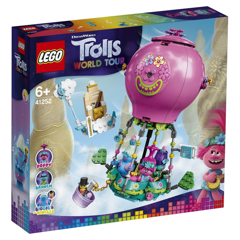 Купить Конструктор LEGO Trolls 41252 Путешествие Розочки на воздушном шаре,