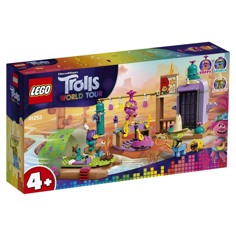 Купить Конструктор LEGO Trolls 41253 Приключение на плоту в Кантри-тауне,