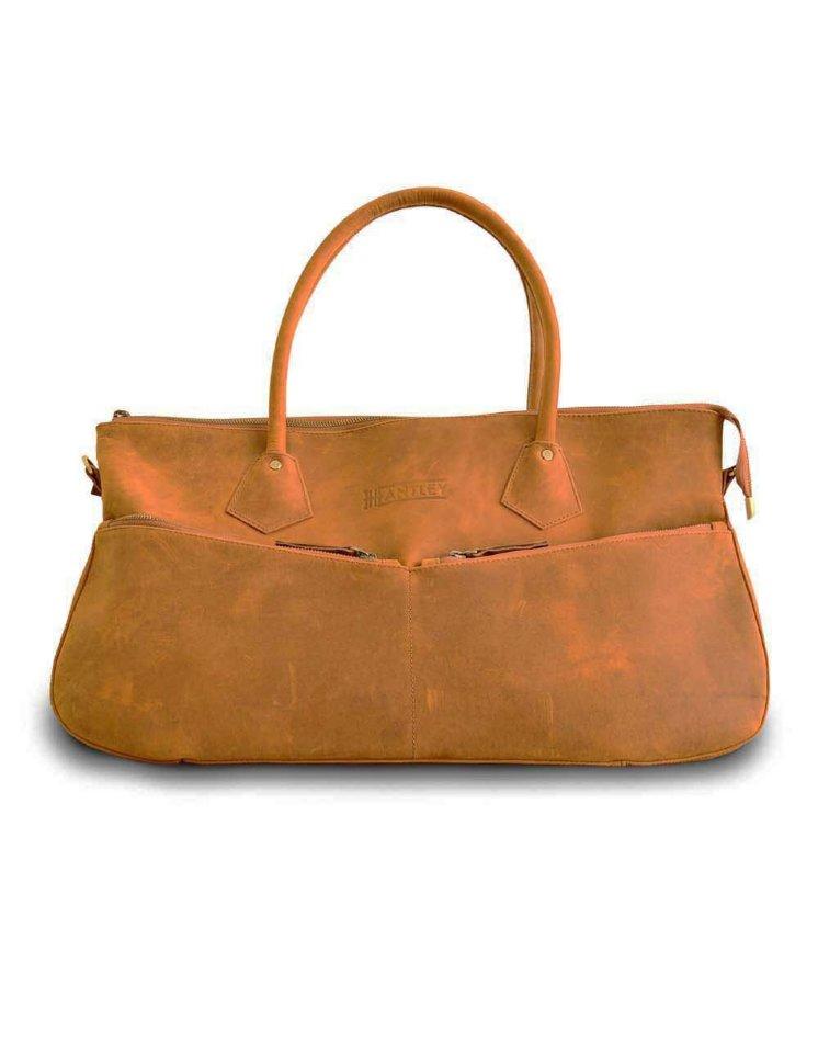 Дорожная сумка Hantley Sempre brown 54 x 28 x 21 см