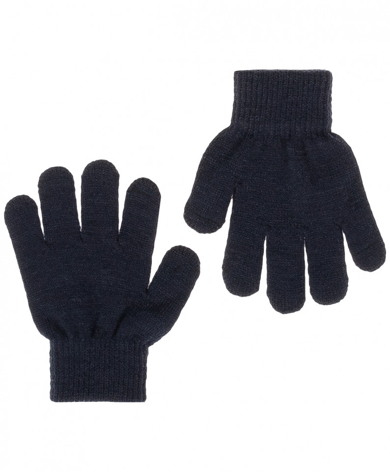 Купить 219BBBX76024000, Перчатки для мальчиков Button Blue, цв. синий, р.18,