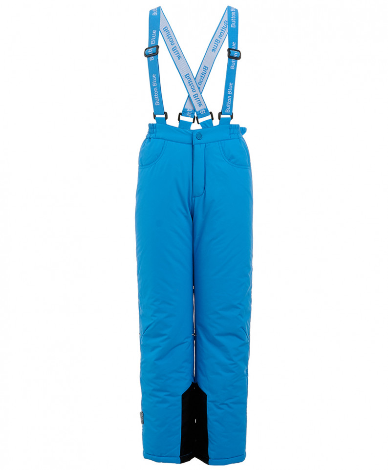 Купить 219BBGA64023700, Зимние брюки для девочек Button Blue, цв. синий, р.98,