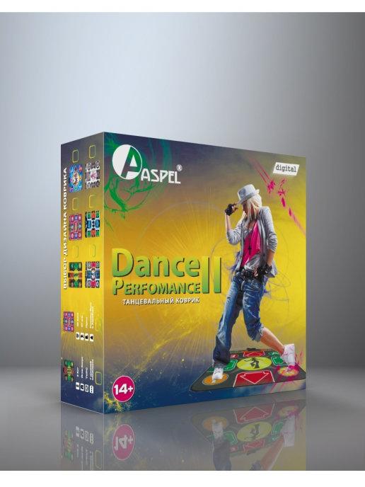 Купить Танцевально-игровой коврик Dance Perfomance II ASPEL ТВ/ПК (32 бита),