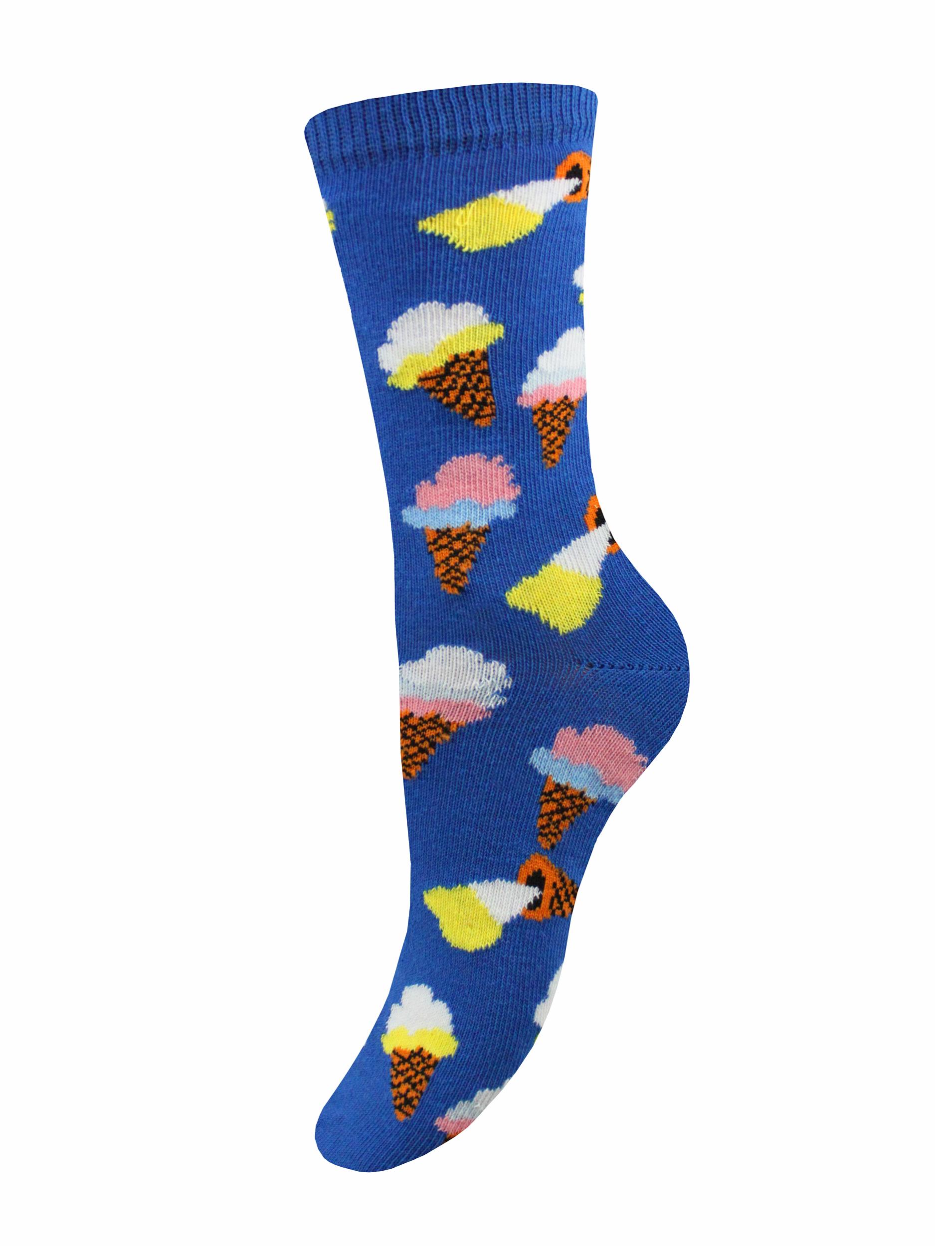 Носки женские Mademoiselle SC-20210108 синие 35-40