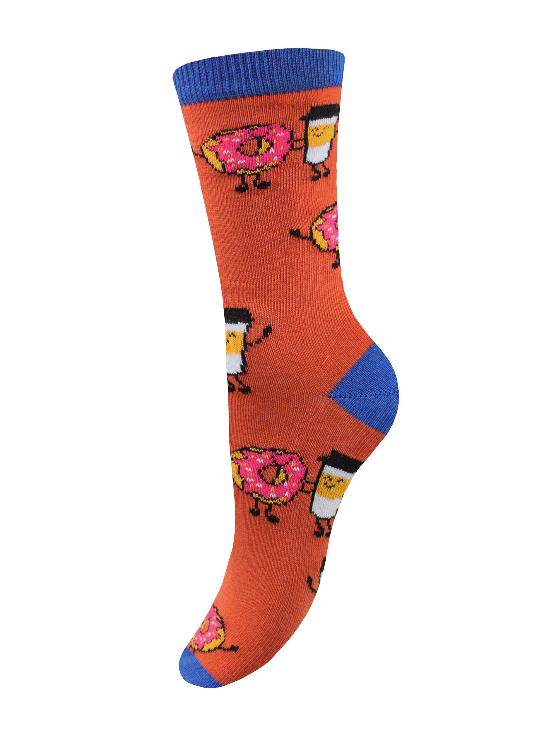 Носки женские Mademoiselle SC-20210104 оранжевые 35-40