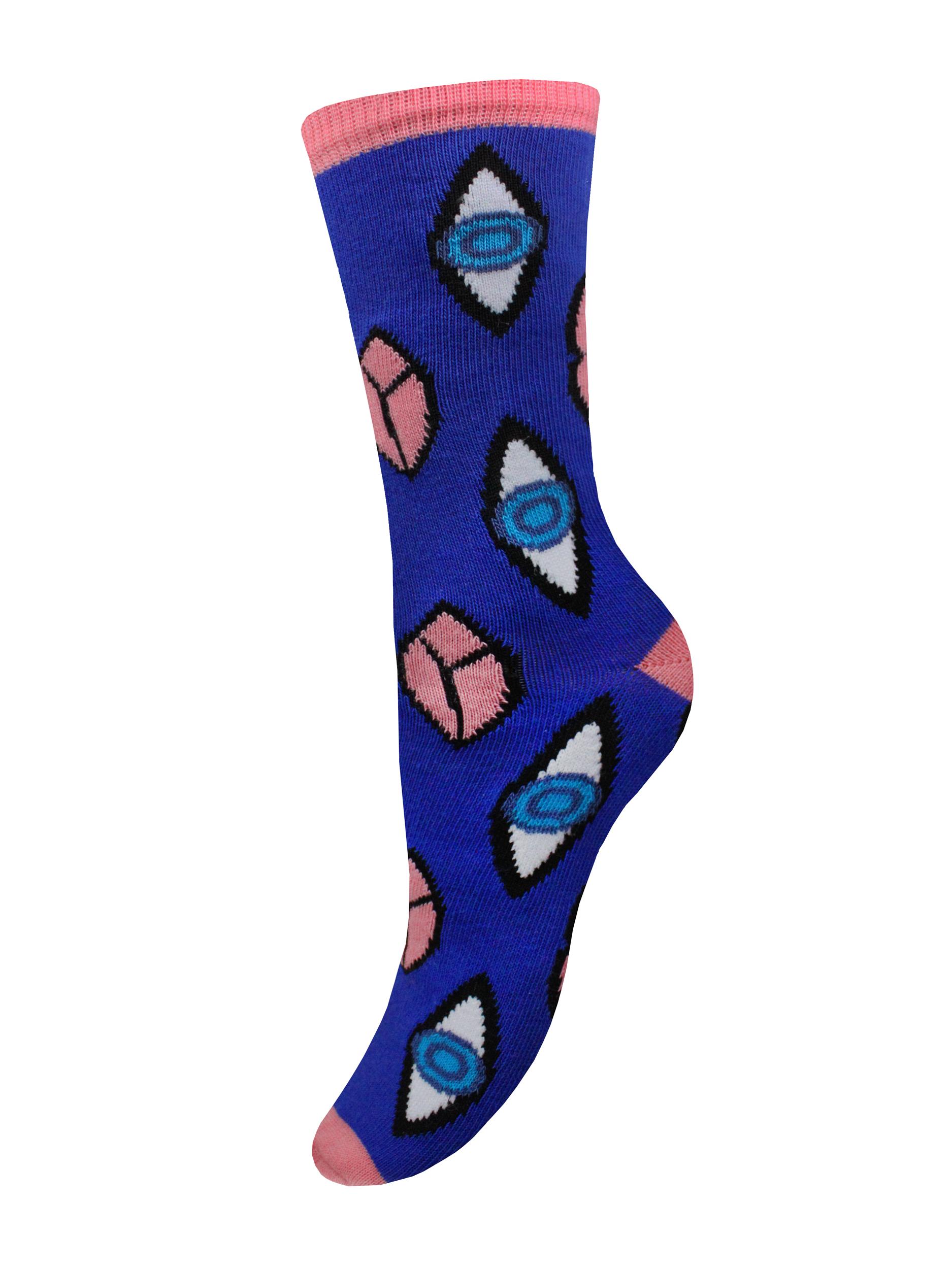 Носки женские Mademoiselle SC-20210101 синие 35-40