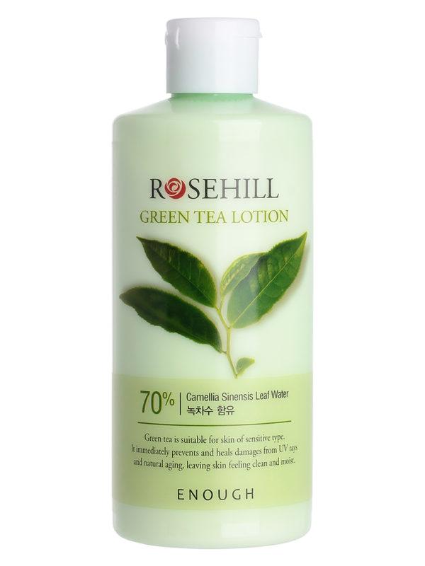 Купить Лосьон для лица с экстрактом Зеленого чая Enough Green tea lotion 300 мл, Enough Лосьон для лица с экстрактом Зеленого чая, Green tea lotion 300 мл