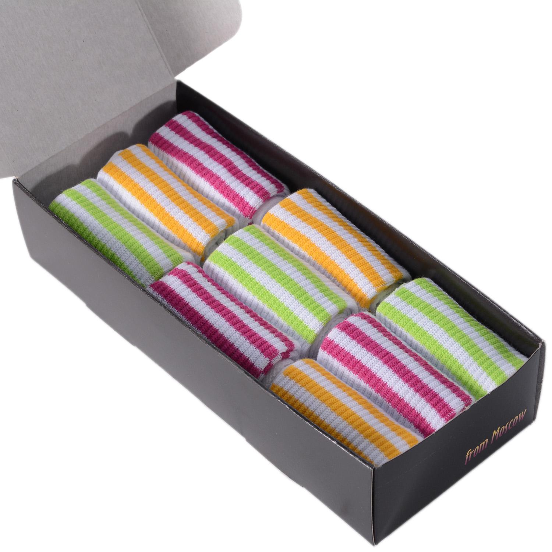 Набор носков женский VIRTUOSO Ви9-NS-12Y разноцветный 23-25 (36-39)