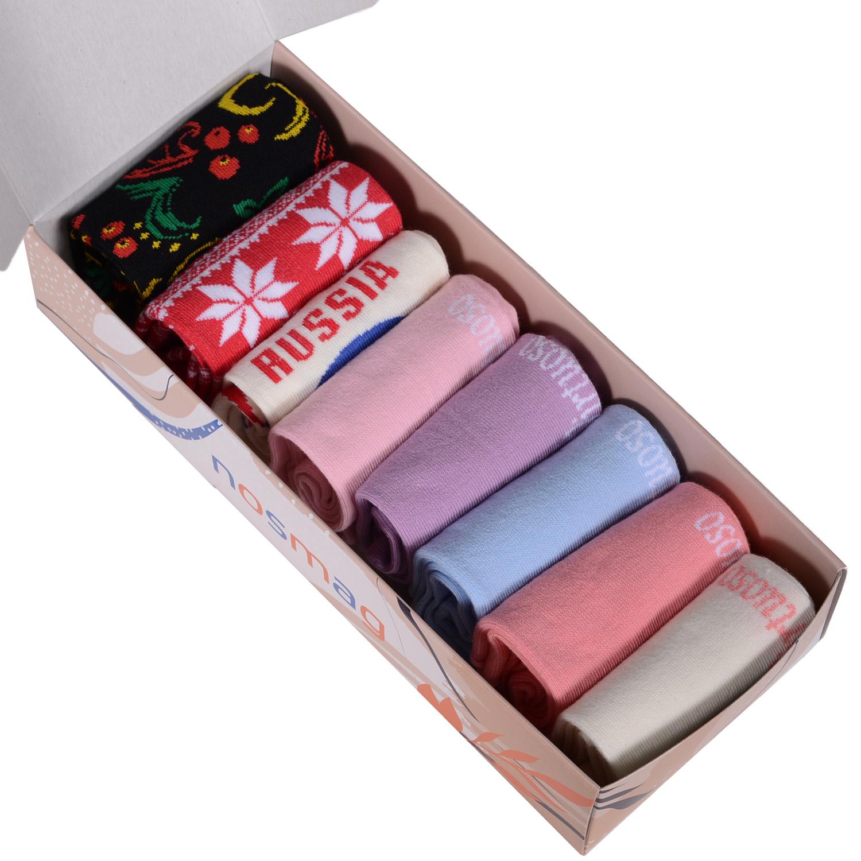 Набор носков женский VIRTUOSO Ви8ж-1 разноцветный 23-25 (36-39)
