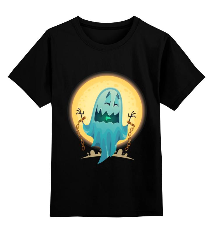 Детская футболка Printio Хэллоуин цв.черный р.104 0000002564910 по цене 990