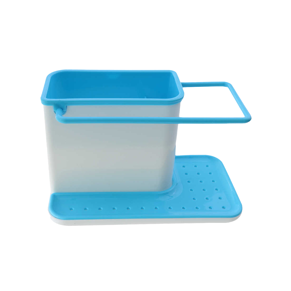 Органайзер для ванной Blonder Home голубой, 21х11,4х13,5