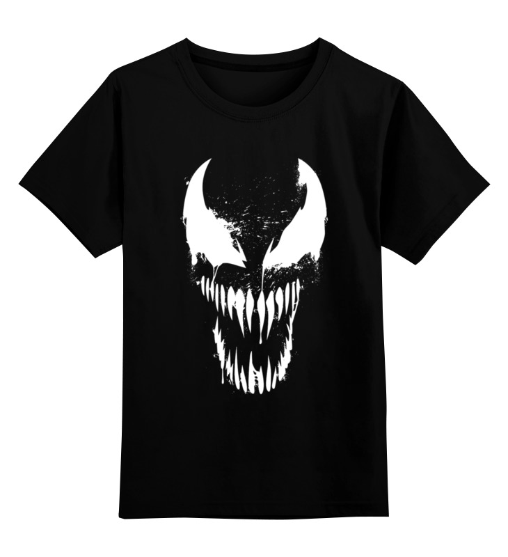 Детская футболка Printio Веномчик цв.черный р.104 0000002671604 по цене 1 190