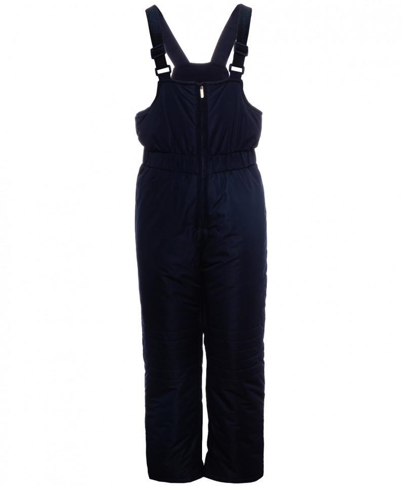Купить 219BBGC67011000, Зимний полукомбинезон для девочек Button Blue, цв. синий, р.98,