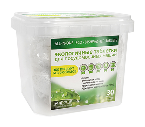 Таблетки для посудомоечных машин NeoHome 30