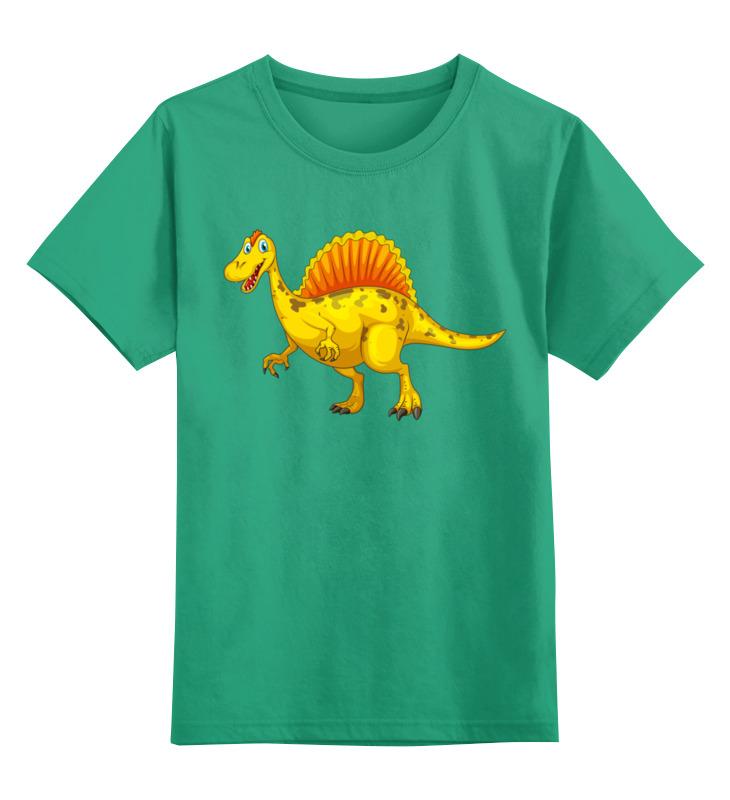 Детская футболка Printio Дракон цв.зеленый р.164 0000002672936 по цене 990