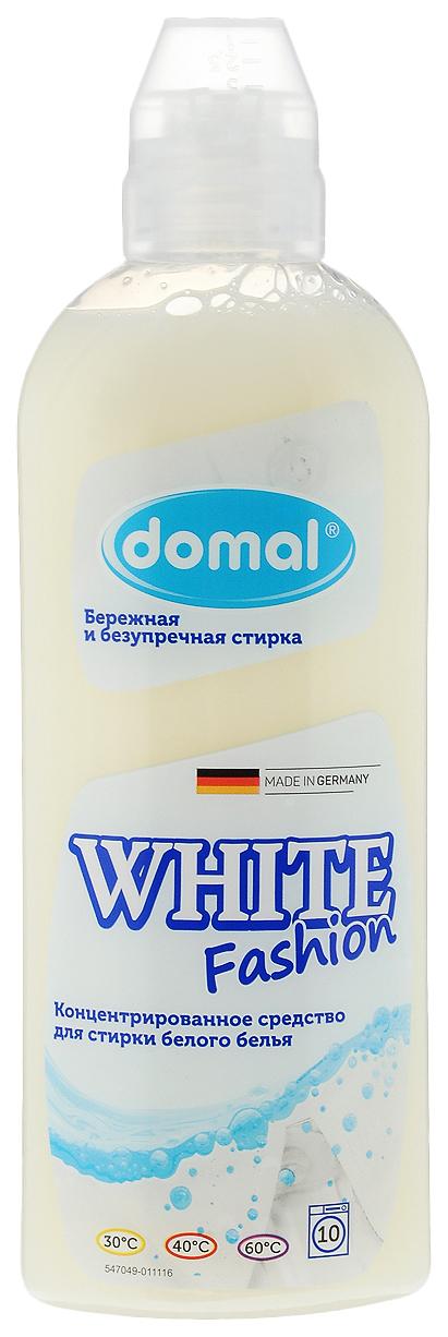 Средство для стирки domal white fashion, концентрированное, для белого белья, 375 мл
