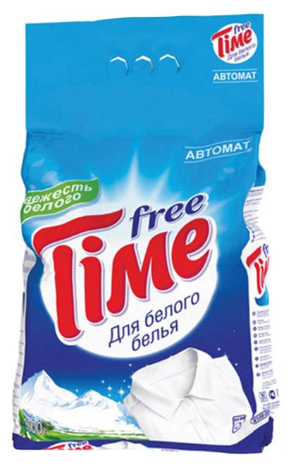 Порошок Free Time cтиральный для белого автомат