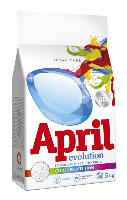 Стиральный порошок April evolution автомат сolor protection